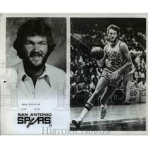 1978 Press Photo Coby Dietrisk of the San Antonio Spurs