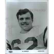 Press Photo Al Atkinson, New York Jets linebacker