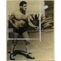 1936 Press Photo Casey Kazanjian, former Stanford football player turned