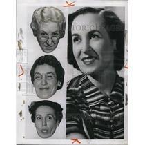1951 Press Photo Virginia Sale,actress