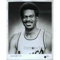 Press Photo Guard Lucius Allen, Seattle Supersonics Basketball Player