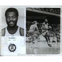 1979 Press Photo Tom Boswell Houston Celtics Basketball Player