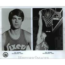 Press Photo Rod Freeman of Philadelphia 76ers