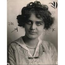 1914 Press Photo Vera Badir Norton LA Calif lawyer