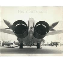1967 Press Photo The F-111 Swing-Wing Tactical Fighter