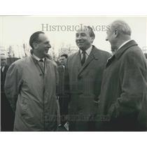 1965 Press Photo Minister of Aviation Roy Jenkins at Sonic Bang Demonstration