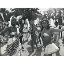 1917 Press Photo Fetes De Geneve, Sagueiro Samba School, Brazilian Dancers