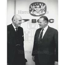 1970 Press Photo British Overseas Airways Corporation Annual Report Press Conf.