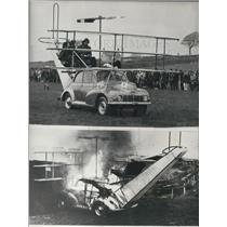 1971 Press Photo Bert Hayes's Morris-driven 'Concorde