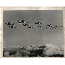 1941 Press Photo U.S. Army Air Corps. Planes. - nem20845