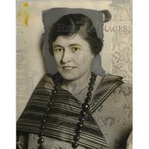 1924 Press Photo Mayme Williamson a fascist