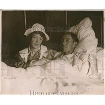 1918 Press Photo Arthur Waldstein and Wife Pearl Henderson