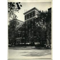 1921 Press Photo National Capitol Raquet Club in Wash DC
