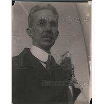 1924 Press Photo Elwood Lewksbury of the Red Cross