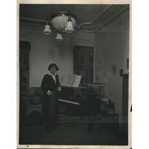 1918 Press Photo Ethel Leginska English pianist