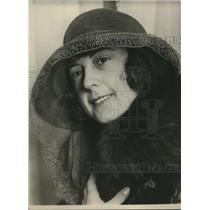1924 Press Photo May Brown of Cairns, North Queensland