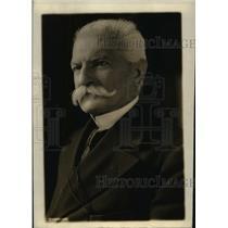 1915 Press Photo Baron Sidney Sennino Italian Minister of Treasury