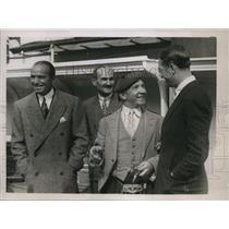 1930 Press Photo Harry Lasder, Maurice Chevalier & Douglas Fairhanks - nex52453