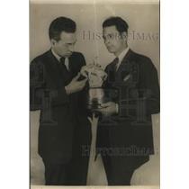 1924 Press Photo Cornelius Vanderbilt Jr - ora13122