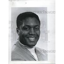 1968 Press Photo Hallie Bryant ex player & advance man for Harlem Globetrotters