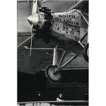 1987 Press Photo Charles Linbergh's Spirit of St Louis