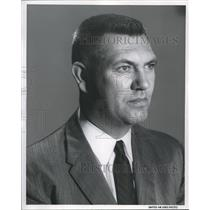 1958 Press Photo Howard J. Fellows, new United Air Lines manager - ora28439