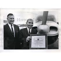 1968 Press Photo Daniel D. Grecco, Oregon's oldest aviation mechanic - ora27400