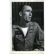 1969 Press Photo Walter Cunningham - ora10477