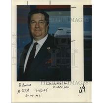 1995 Press Photo Lawrence W Clarkson - ora07329
