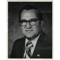 1983 Press Photo Angelo Koukoulis, vice chairman of Wright Airlines Inc.