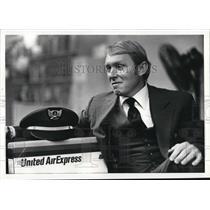 1981 Press Photo Bruce L Richard Pilot