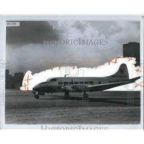 1969 Press Photo Write Airlines 9 Passenger plane