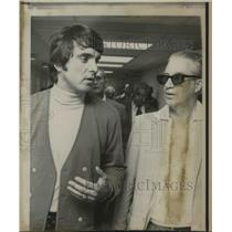 1971 Press Photo Tony Conigiliaro Basketball eye injury - ora19000