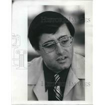 1976 Press Photo Ed Emil Airline flier - ora22608
