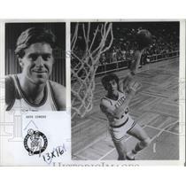 1983 Press Photo Dave Cowen played in Portland Trail Blazers. - ora09621