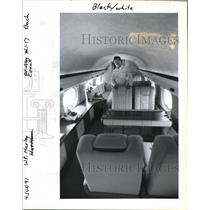 1991 Press Photo Haney Harrison responsible of Louisiana Pacific 10-plane Fleet.