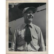 1956 Press Photo Capt. Harry Connor, round the world pathfinder - ora17079