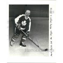 1991 Press Photo Mark Childs Oregon Hockey League - ora09565