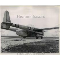 1953 Press Photo MATS Fairchild C-82 Packet