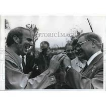 1977 Press Photo Pilot Paul Christensen - ora10025