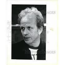 1981 Press Photo Cotton Fitzsimmons, Kansas City NBA basketball coach - ora25685