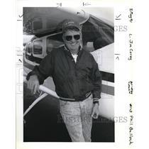 1991 Press Photo Jim Corey, planes - ora12198