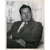 1960 Press Photo Joe Kuharich - ora48640