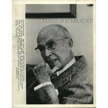 1973 Press Photo Grover Loening, holder of first aeronautical degree