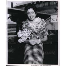 1960 Press Photo Karen Fischer - ora28175