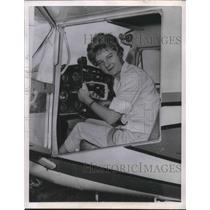 1962 Press Photo Pilot Virginia Buck of Hyde Park New York High School