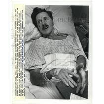 1981 Press Photo Flight Engineer Harold E. Ramey