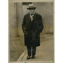 1920 Press Photo British Government Strike War Ben Tillett Riverside Workers