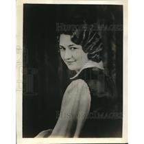 1932 Press Photo Edythe Hoskinson of Hutchinson, Kansas