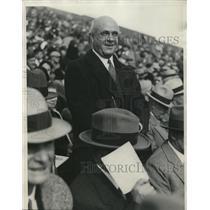 1931 Press Photo Floyd Harper, brother of Jessie Harper of Notre Dame
